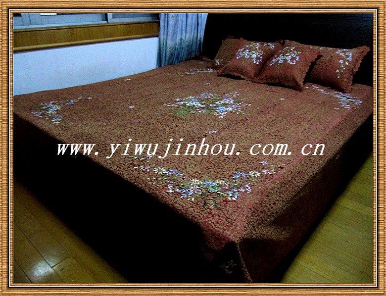 Yiwu No1 5pcs Ribbon Embroidery Bed Sheet Setmanufacturers