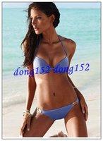 Free shipping! New fashion sexy Bikini swimsuit # 3302 black blue pink