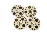 Разъем 200pcs/Lot 4* 1W 4* 3W 28mm High Power LED Aluminum Base Plate LED PCB Circuit board