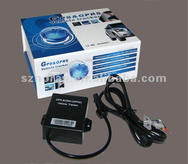 Mini Inbuilt GPS & GSM antennas motorcycle/car gps trackers