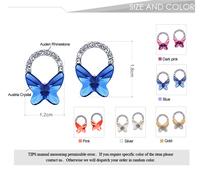 Серьги-гвоздики Neoglory MADE WITH SWAROVSKI ELEMENTS Crystal Auden Rhinestone Stud Earrings Jewelry Gift Fashion Brand 2013 New