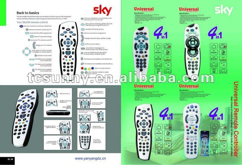 sky hd rev9 0 universal remote control buy universal remote rh alibaba com sky hd manual ip configuration sky hd box manual pdf