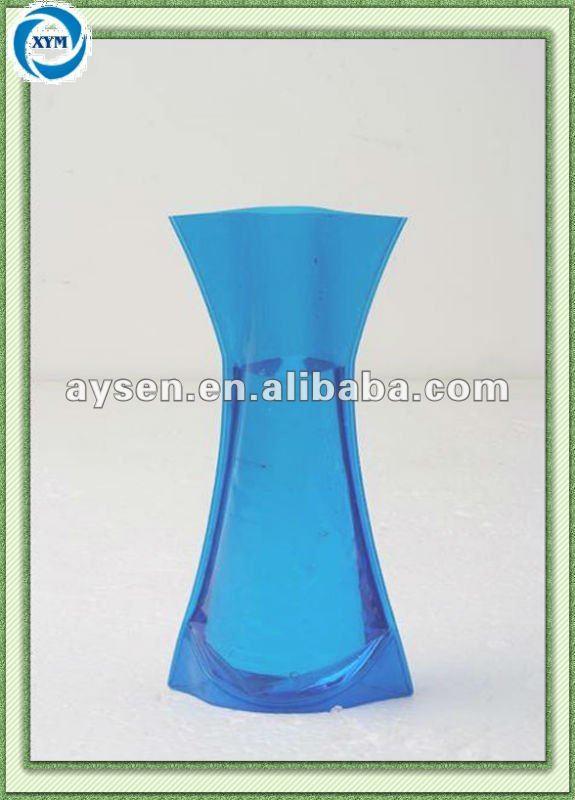 logo bedruckt pvc faltbare vase