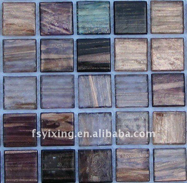 hm04 oro mosaico di vetro line per parete e pavimento piastrelle ...