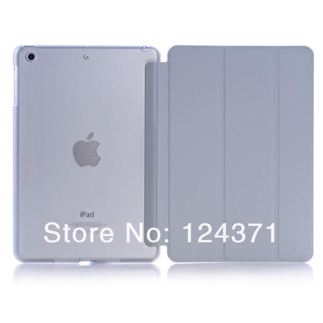 Ultra Slim מגנטי חכם כיסוי נרתיק עור עם מט חזרה case עבור iPad של אפל מיני 1/2 עם תצוגת רשתית