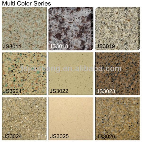 seashell cuarzo piedra artificial encimera de granito baldosas