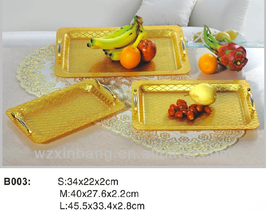 High Quality and New Design Acrylic Fruit /Candy Tray, Cake tray