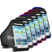Ремень с карманом под телефон на руку High Quality Sports Gym Running Jogging Armband for Samsung Galaxy S3 III S6082 UPS DHL EMS HKPAM MJ-1