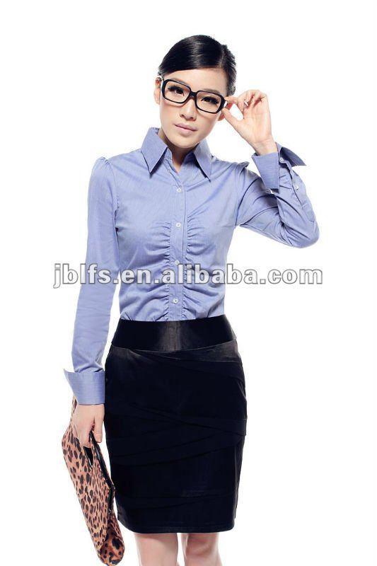 Projeto para blusas de manga longa de trabalho formal blusa