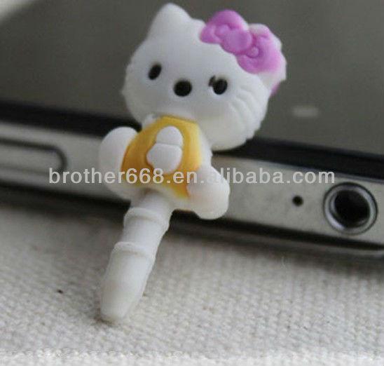 2013 new design dust plug ,best anti dust plug for phone