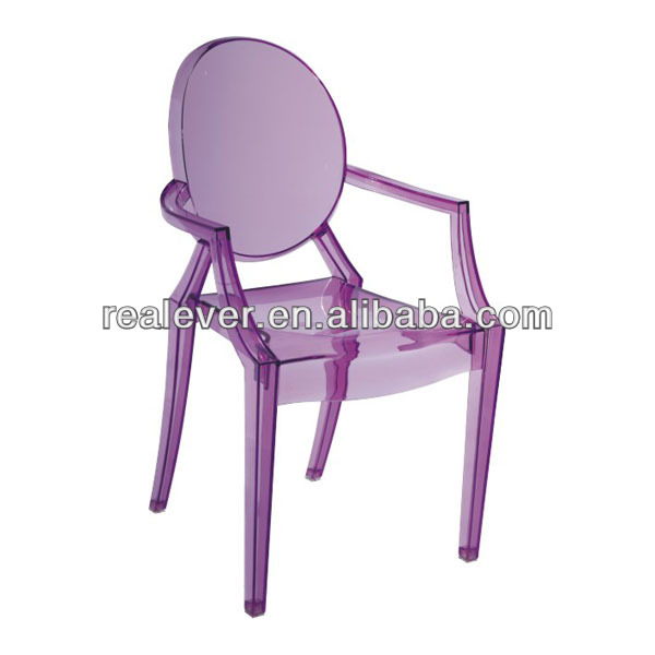 Children PC molded louis ghost chair