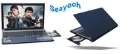 High Quality 15.6 inch notebook Intel Atom D2700 Dual Core With DVD RW 2GB RAM 160GB HDD  15.6inch laptop Drop shipping