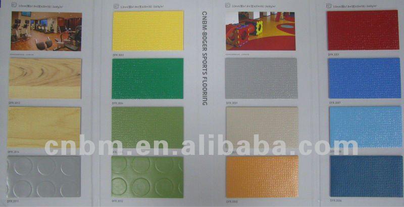 Vinyl/PVC Flooring Roll-sport place