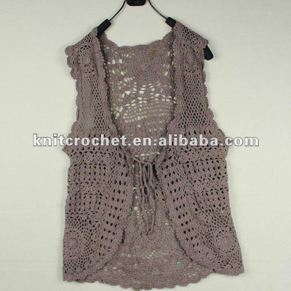 El último 2012 nuevo diseño de las señoras del ganchillo suéter