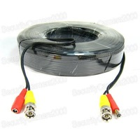 BNC/RCA Power Video Extension Cable for CCTV Camera 50M
