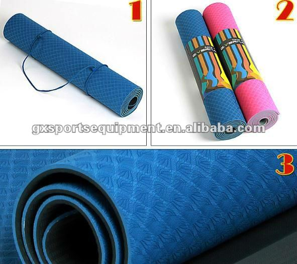 ECO 100% TPE gym yoga mats