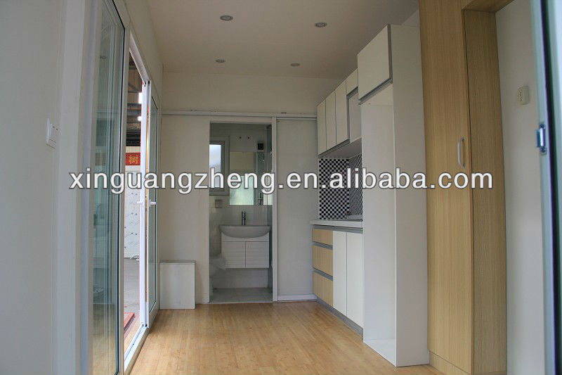 20 ft low cost and durable container house for living .office .sea side