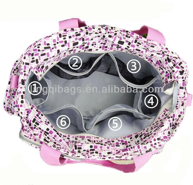 Waterproof Nylon Baby diaper Bag