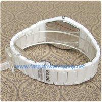 Наручные часы New Unisex Sapphire Crystal White Ceramic Quartz Watch For Men's / Women's 811 Fashion Gift
