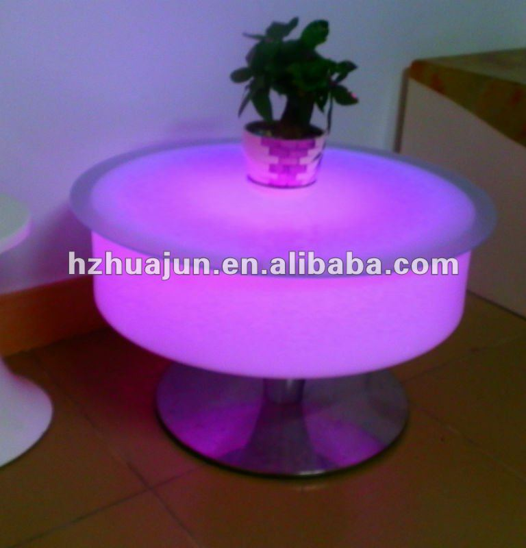 fashionable table&chair led PE Material