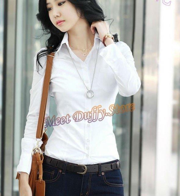 Imágenes de blusas blancas elegantes - Imagui