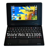 Нетбуки и ПК 7 inch VIA8650 256M/4G Wifi laptop mini netbook Android 2.2 or win CE 6.0 Support Dropship