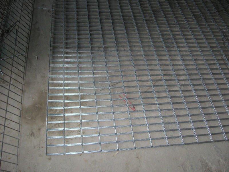 Galvanized Welded Wire Mesh Concrete 3 Welded Wire Mesh Panel Usage