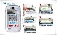 "Мобильный телефон mini 9300/i9300 3.5"" Capacitive Screen 320*480 WIFI Android mobile phone"