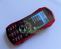 NEW arrival Luxury Car Phone F9 Dual Band Dual Sim Metal Cover Free Shipping Russian Keyboard