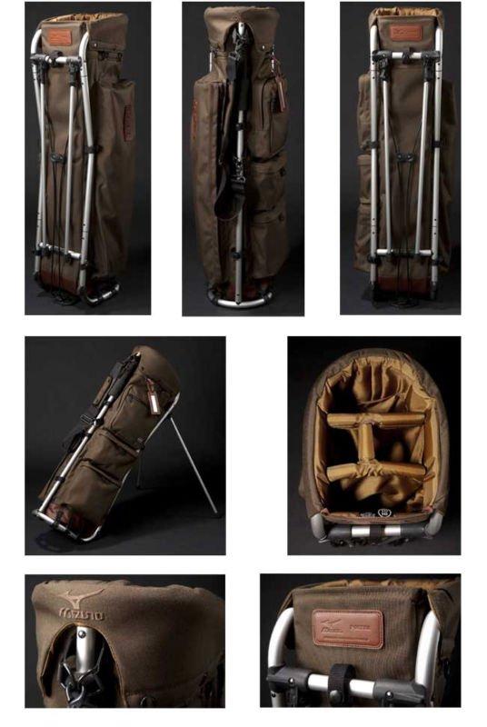 [golf bag]Mizuno Porter frame walker 45CM08770 ag caddy bag