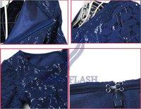 Женское платье New Elegant Lace Dress Lady Skirt Women's Short Sleeve Dress Three Size