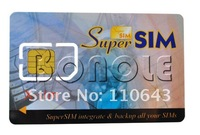 SIM-карта Holiday Sale! 16 in 1 SIM Card Cell Phone Magic Super SIM Max Card Dropshipping 1020