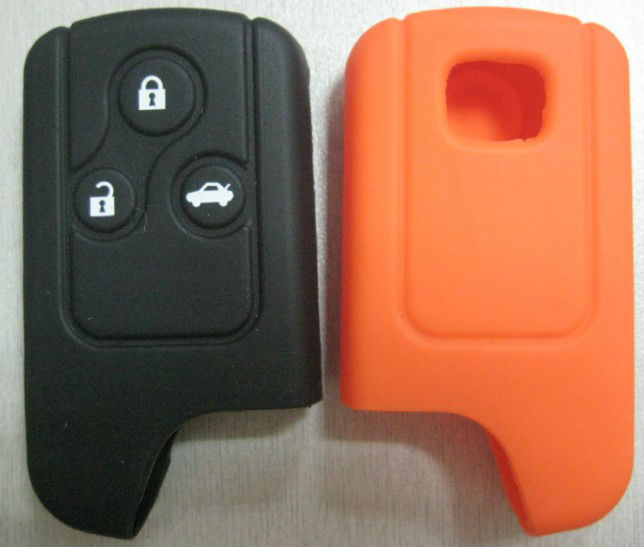 With 3 buttons silicone car remote key case for Hyundai