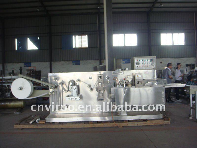 VPD200 horizontal Wet Tissue Folding Machine