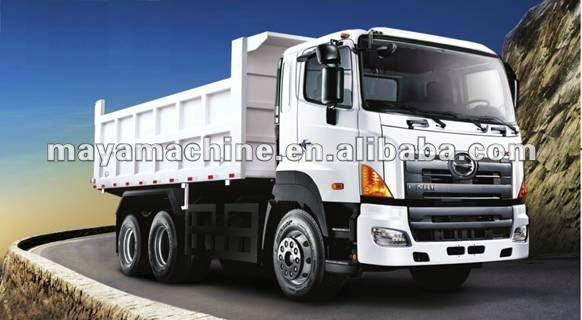 hino 6x4 dump truck
