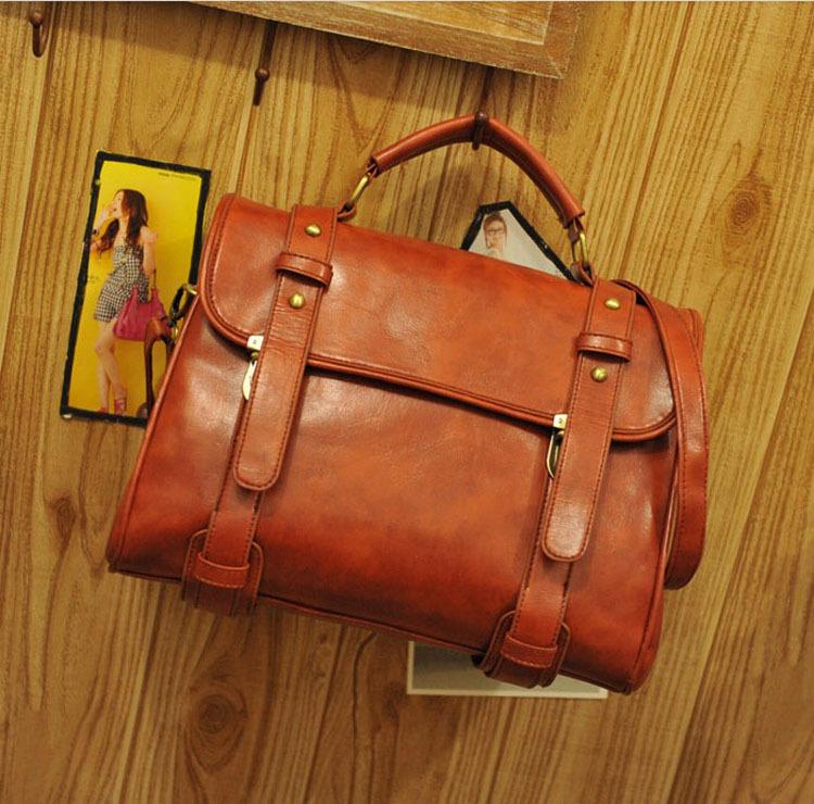 сумки женские портфель коричневый - Сумки.