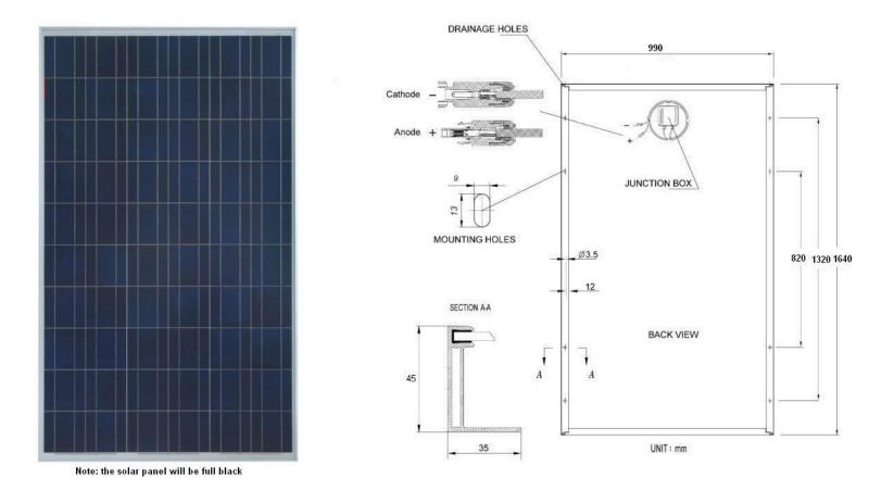 hot selling best price poly 230w solar panel in stock