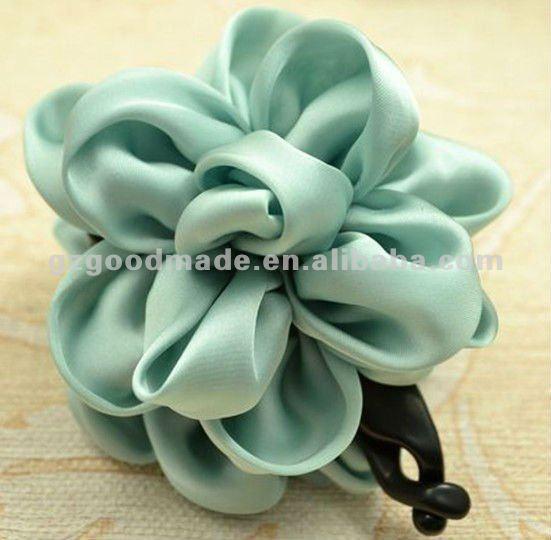 Pelo de la flor de flores de tela con clip de plátano-Otros ...