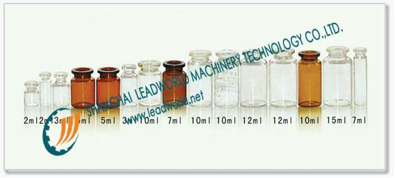 penicillin bottle automatic labeling machine
