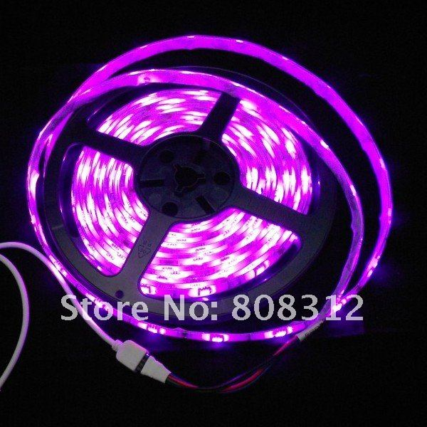 Free Shipping 10M 5050 RGB waterproof Flexible Strip tape 30led/Meter +  IR 24 key controller + 1 to 3 rgb connector + DC cable