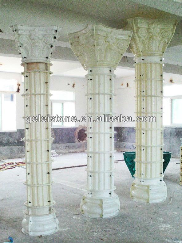 Decorative+concrete+molds on Round Column Forms Plastic