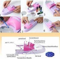 Инструменты для дизайна ногтей 7 DIY 919NPM