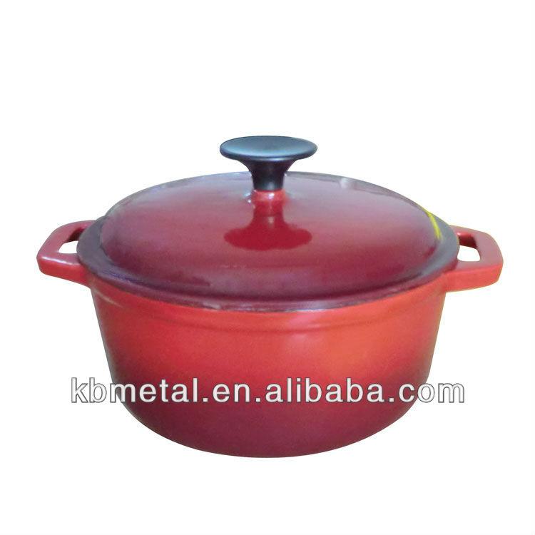 Enamel Cookware Pot/Cooking Pot