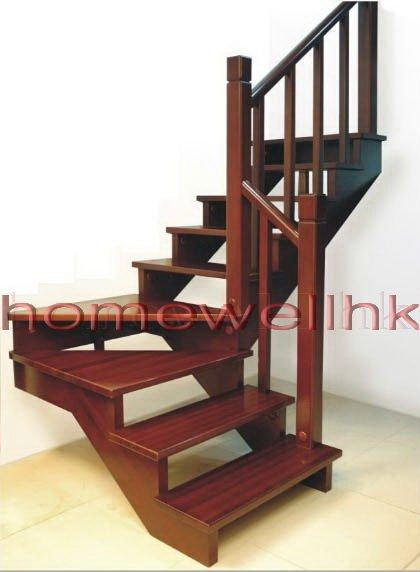 Pin santos mahogany on pinterest - Como hacer escaleras de madera ...
