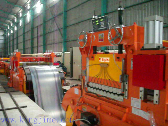 thick plate leveler machine