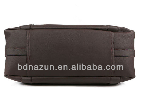 mens leather travel bag in factory price