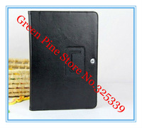 Чехол для планшета for Samsung Galaxy Tab 2 10.1 folding leather case cover with stand GT-P5100 P5110 P7510 Tablet case