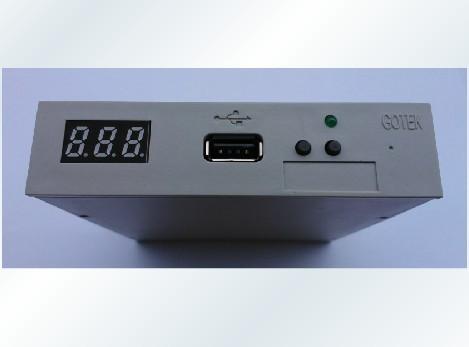 "Флоппи-дисковод GOTEK sfr1m44/dl 3.5"" 1,44 SSD USB SFR1M44-FU-DL"