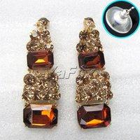 1set/много свадьба для новобрачных горный хрусталь невесты серьги Ожерелье ювелирных изделий набор wa34-8