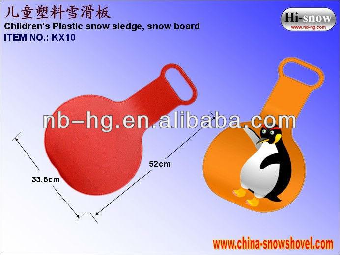 KX10 Plastic ski sledge ,Snow Ski ,Snow sledge ,Sled.jpg
